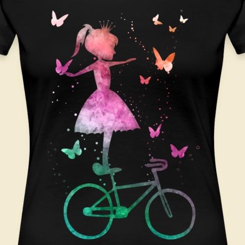 Kunstrad | Märchen Prinzessin - Frauen Premium T-Shirt