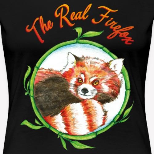 The Real Firefox - Frauen Premium T-Shirt