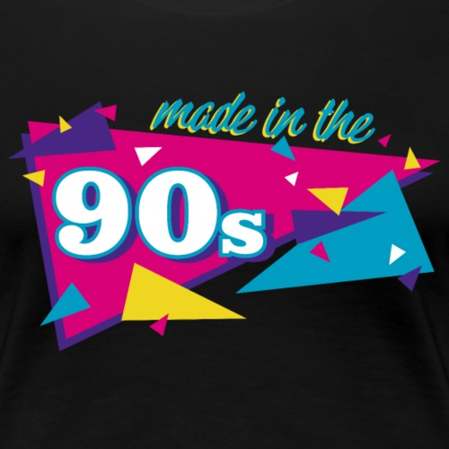 Made in the 90s - Frauen Premium T-Shirt