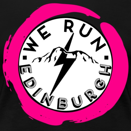 WE RUN EDINBURGH LOGO - Women's Premium T-Shirt
