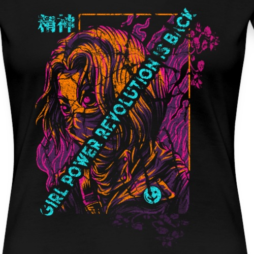 Girl power revolution is back - T-shirt Premium Femme