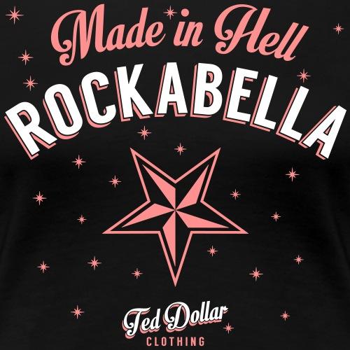 Made in Hell Rockabella - T-shirt Premium Femme
