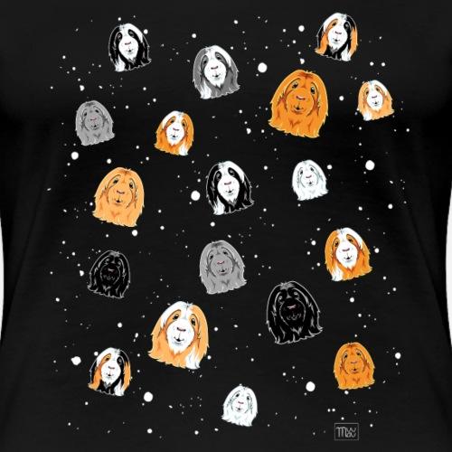 Avaruusmarset Pitkis - Naisten premium t-paita