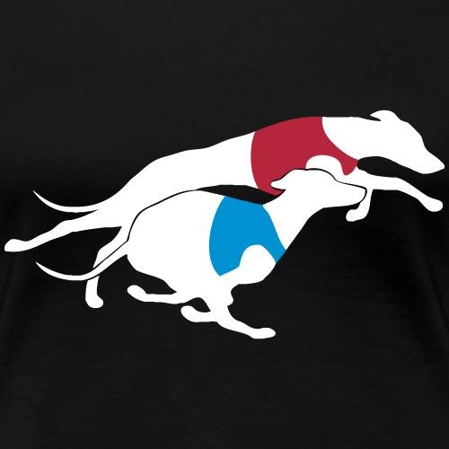 Italian Greyhound Racing - Naisten premium t-paita