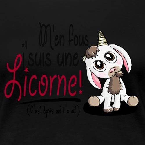 Je suis une licorne ! - T-shirt Premium Femme