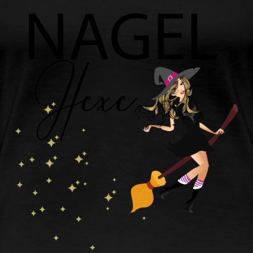 Nagel Hexe - Frauen Premium T-Shirt