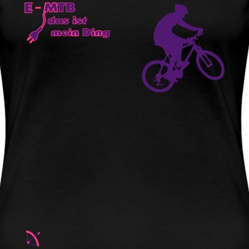 E MTB - Frauen Premium T-Shirt