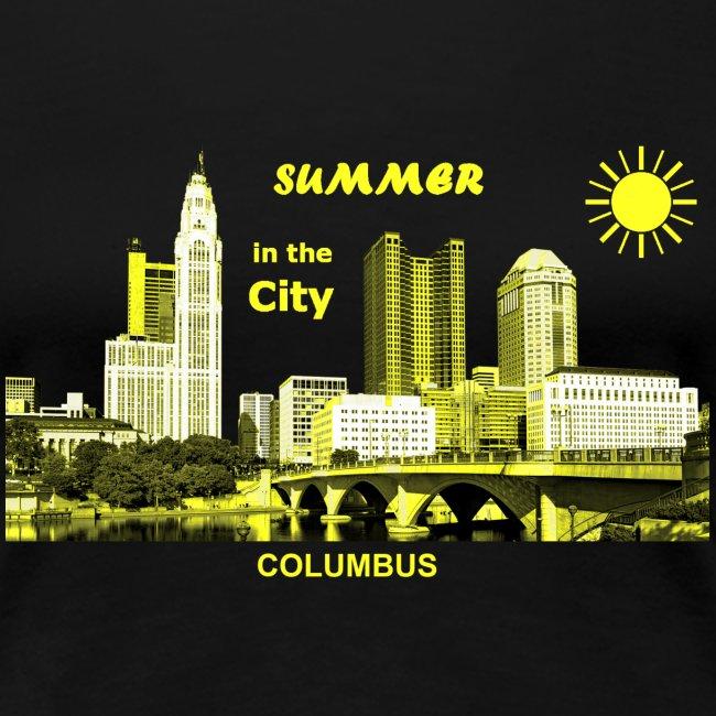 Summer City Columbus USA Urlaub