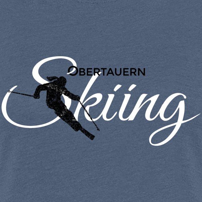 Obertauern Skiing (Weiß) Apres-Ski Skifahrerin