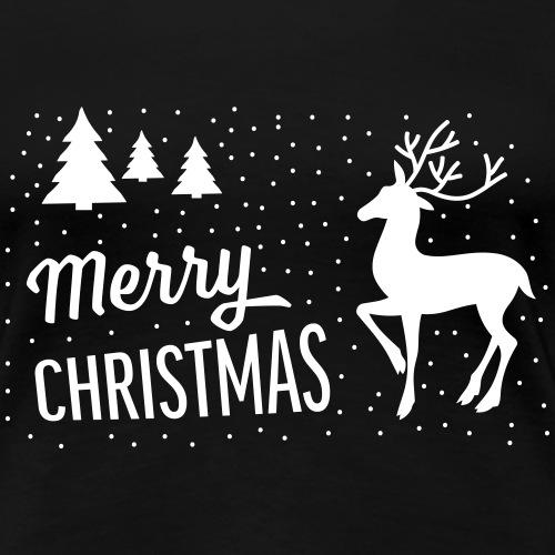 merry christmas - T-shirt Premium Femme