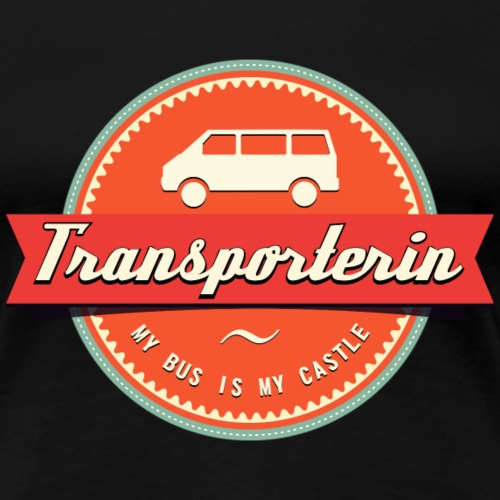 Transporterin Retro - Frauen Premium T-Shirt