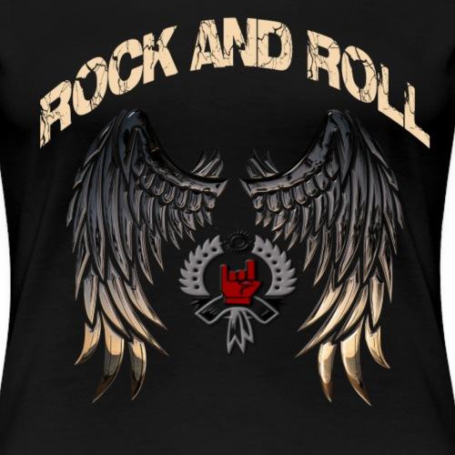 Rock and Roll - Camiseta premium mujer