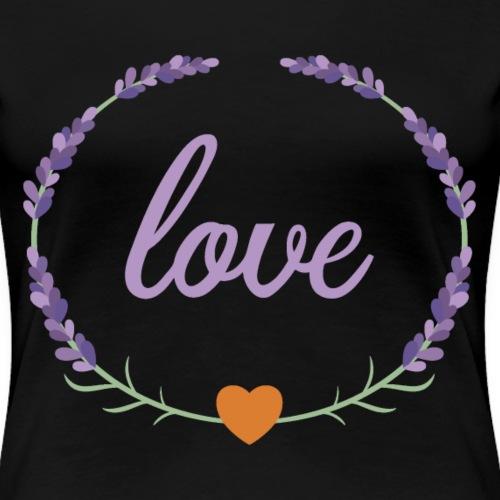 Lavender Love - Women's Premium T-Shirt