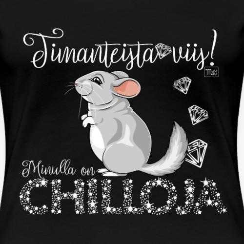 DimangiChilloja IV - Naisten premium t-paita