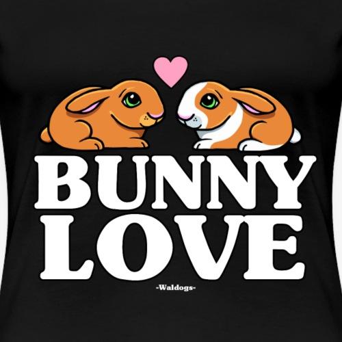 Bunny Love - Naisten premium t-paita