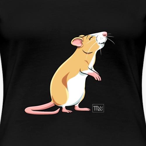 Råtta X - Naisten premium t-paita
