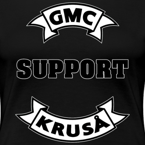 GMC SUPPORT - Dame premium T-shirt