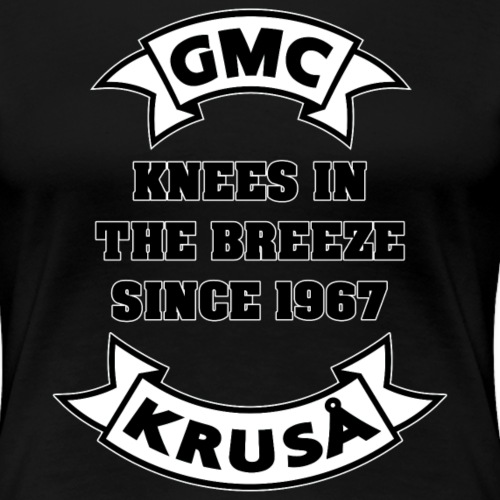 KNEES i BREEZE siden 1967 - Dame premium T-shirt