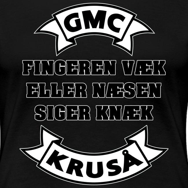 GMC Fingeren væk eller næsen siger knæk
