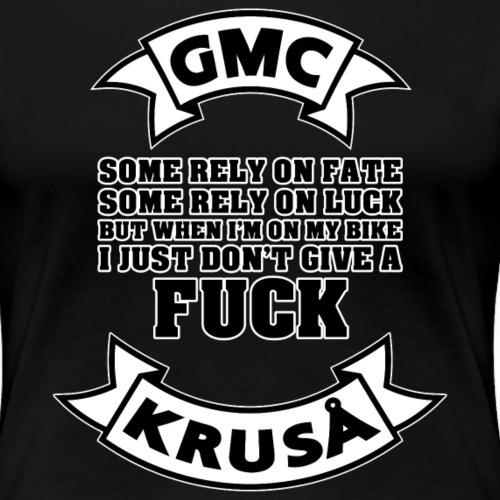 GMS SOM ER SOM LIDT PÅ FAT - Dame premium T-shirt