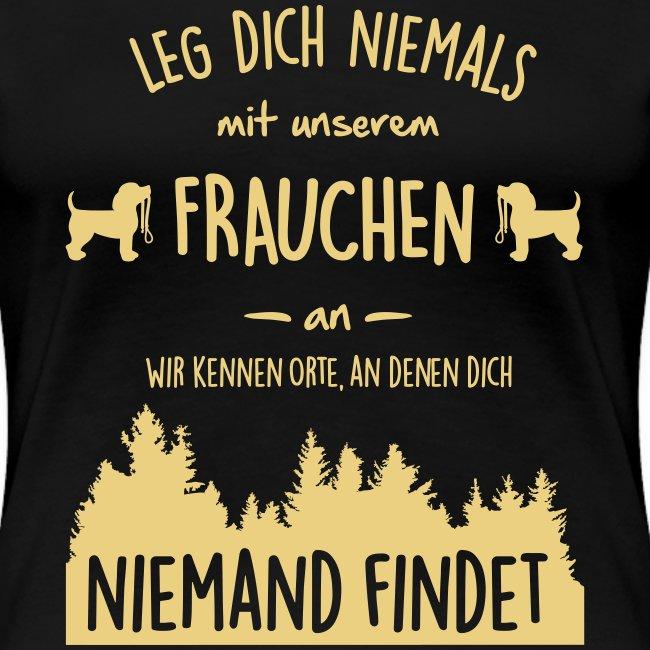Vorschau: Unser Frauchen - Frauen Premium T-Shirt