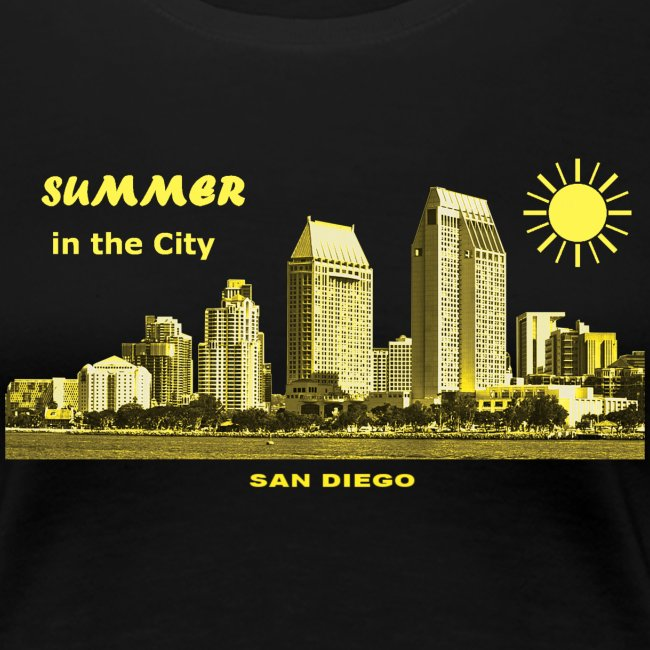 Summer in the City San Diego California USA