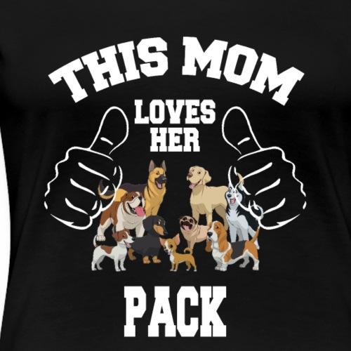 cooles witziges lustiges hunde t shirt geschenk - Frauen Premium T-Shirt