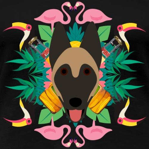 Tropical - T-shirt Premium Femme