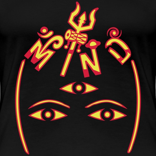 Sind af Shiva - Dame premium T-shirt