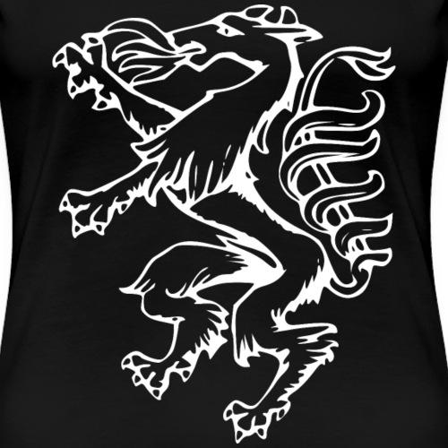 Steirischer Panther LineArt Geschenk Steiermark - Frauen Premium T-Shirt
