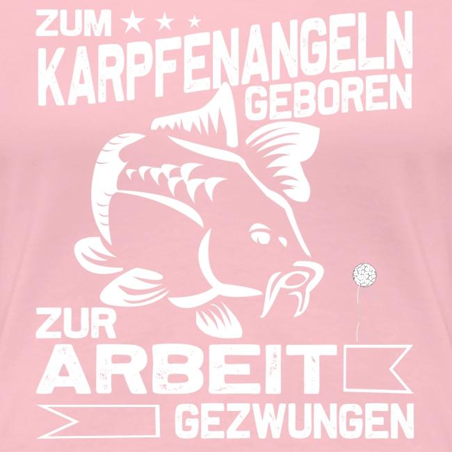 Zum Karpfenangeln geboren, Karpfen Angler