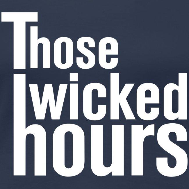 TWH Logo White