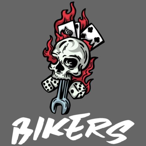 biker 666 - T-shirt Premium Femme