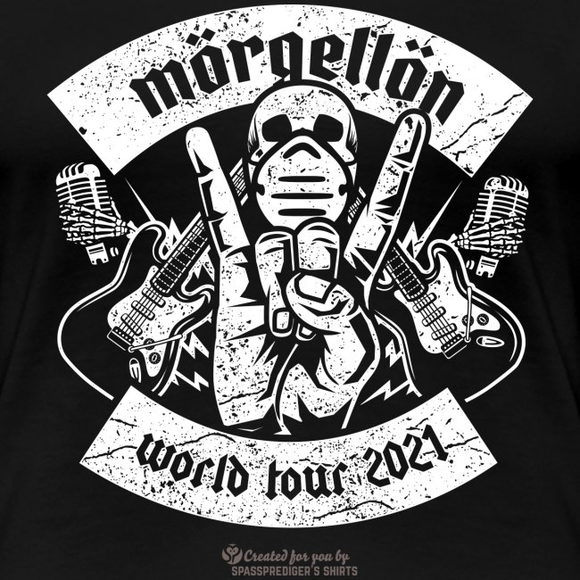 Morgellon Heavy Metal Band T-Shirt World Tour 2021
