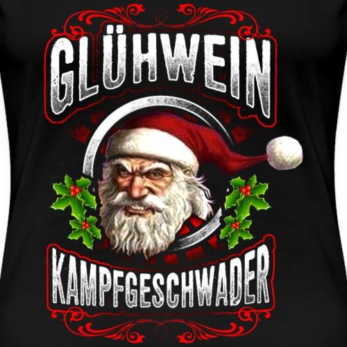 Glühwein Kampfgeschwader Weihnachtsmarkt - Frauen Premium T-Shirt