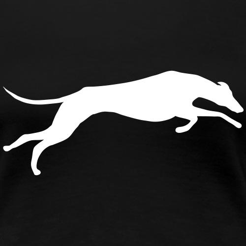 Greyhound - Naisten premium t-paita