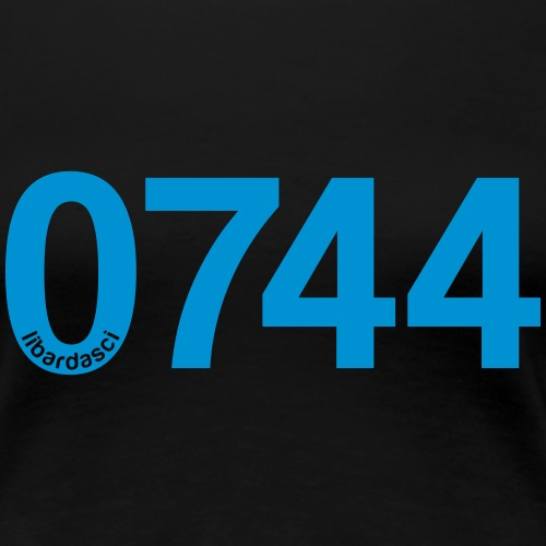 0744: Prefisso di Terni - Maglietta Premium da donna
