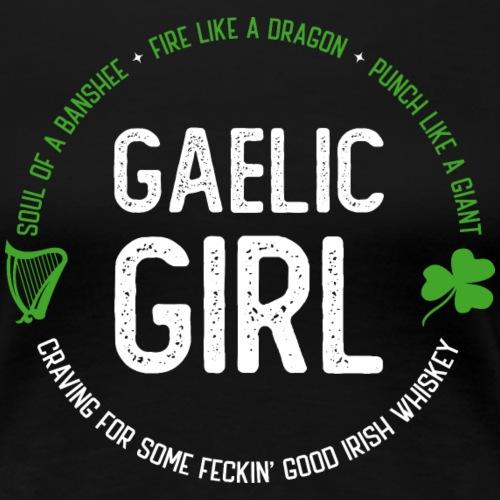 Gaelic Girl - Frauen Premium T-Shirt