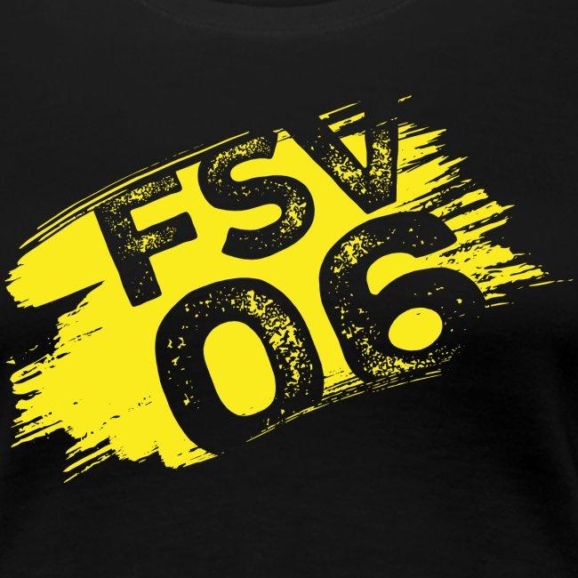 Hildburghausen FSV 06 Graffiti gelb