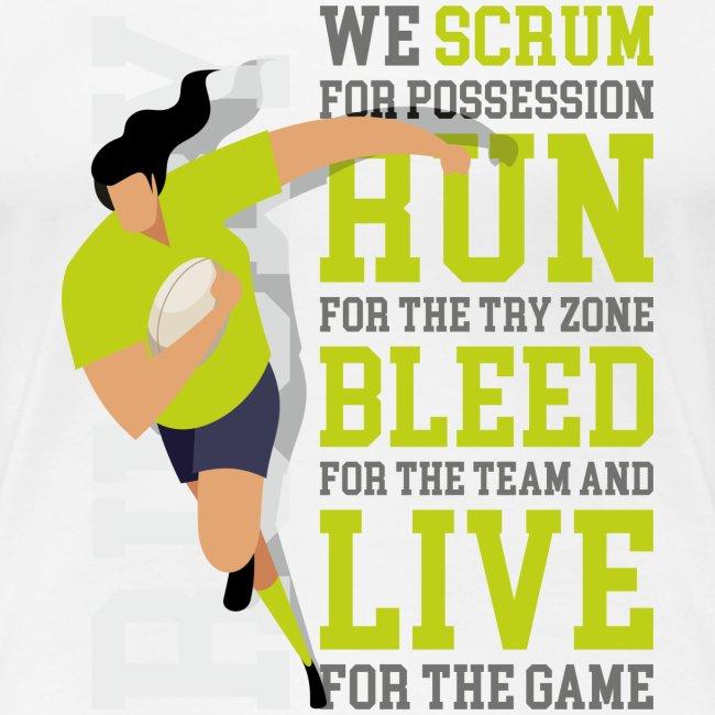 MarPlo Scrum Run Live Green W