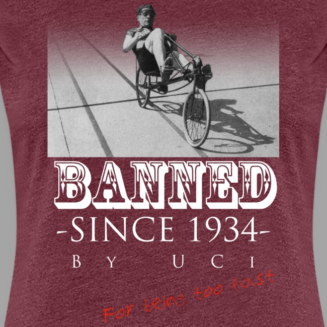 Recumbent Bike Banned since 1934