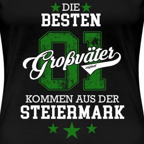 Der Beste Opa Großvater Steiermark Geschenk Cool - Frauen Premium T-Shirt