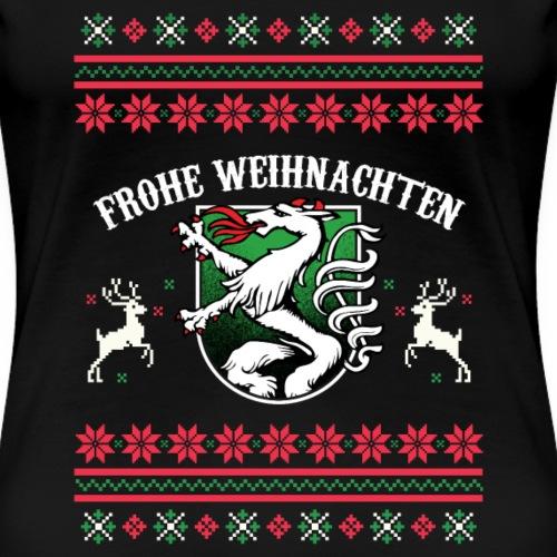 Frohe Weihnachten Steiermark Geschenk Steirer - Frauen Premium T-Shirt