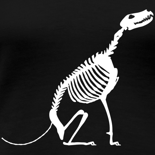 Istu Luuranko Sit Skeleton - Women's Premium T-Shirt