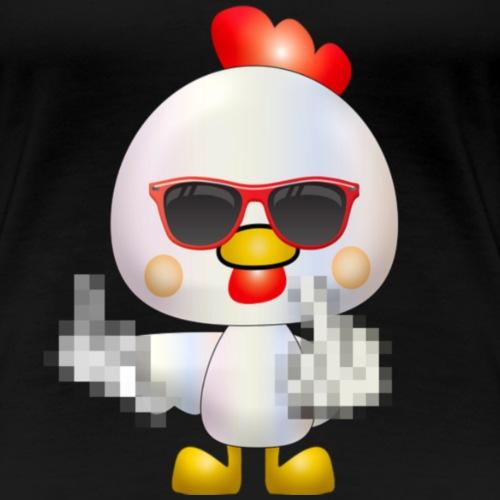Poule F*** - T-shirt Premium Femme