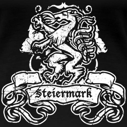 Steirischer Panther Banner Geschenk Steiermark - Frauen Premium T-Shirt