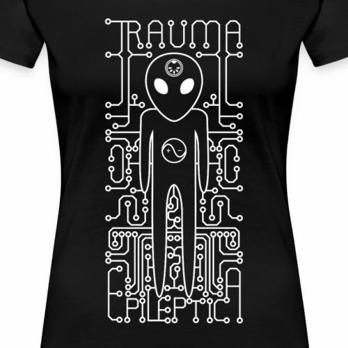 Alien logo - Women's Premium T-Shirt