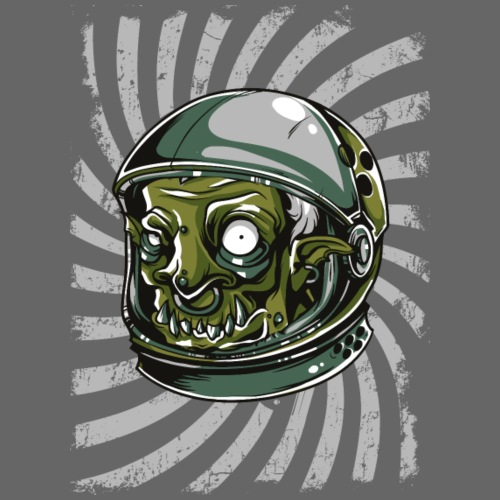 alien-green - Frauen Premium T-Shirt