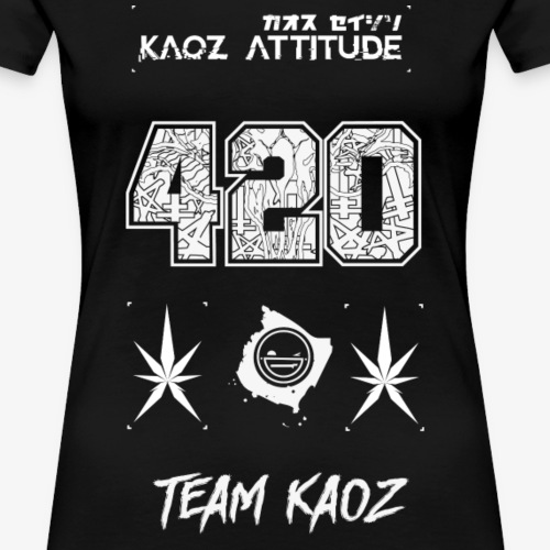 // Team Kaoz 420 Football Shirt - Frauen Premium T-Shirt