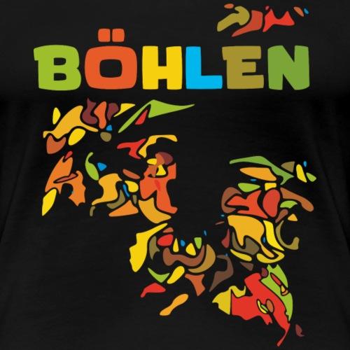 Böhlen - Frauen Premium T-Shirt